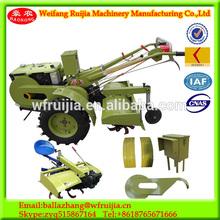 ShanDong machine radiator style bus engine mini power tiller ,low price 15-22HP mini farm tractor used for farm work