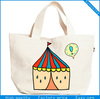 OEM recyclable organic natural cotton shopping bag/tote shopping bag