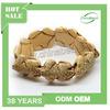 Popular animal bracelet, handmade bone bracelet, Carved Bone Bangle/Bracelet, Antique, Lovely 7 Frogs, Animal