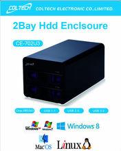 """LOT Big sales 3.5"""" USB 3.0 HDD Case Hard Drive SATA External Enclosure Box support 6TB"""