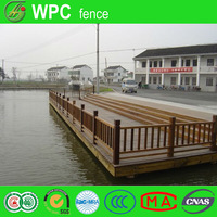 River road Wood Plastic composite Fence for outdoor pool