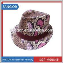 Hottest updated fashion children knitted fedora hat