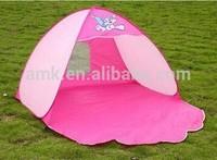 2014 popular lovely waterproof kids camping tent beach tent Folding pop-up beach tents