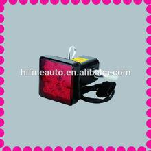 led trailer lights, dot trailer lights, trailer hitch cover with LED brake light