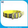 Factory Supply LED dog training collar reflective waterproof dog collar