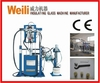 two component sealant-spreading machine
