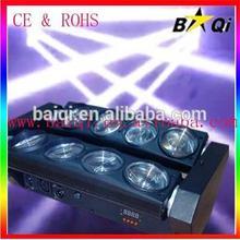 8*10w rgbw cree colorful spider disco beam lighting/moving head light price
