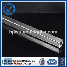 hot sale titanium square tube astm b338