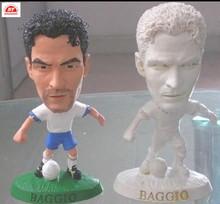 ICTI factory wholesale customize pvc baggio football player action figure