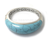Mexican turquoise bangles silver turquoise bracelet turquoise jewelry wholesale