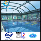 low cost top qualty solid polycarbonate sheet for plastic swimming pool cover material