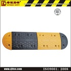 Traffic road rubber reflective speed bump