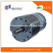 quiet 37mm gearbox 6mm offset shaft high torque 12v robot arm motor