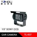 """1 /"""" CCD SONY Caméra voiture étanche couvercle métal et fonction vision nuit infrarouge"""