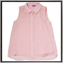 Cut-Out Sleeveless Shirt Petite Clothing