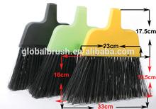 HQ0133B PP China escoba factory large yellow angle broom sweep broom for Jamaica