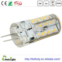 High quality with cheap price 3W rohs silicon 2835 ac/dc mini smd 12v led g4