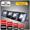 New Arrive CE Rohs Approved IP65 High Brightness CREE/Epistar/Bridgelux waterproof cob 70w floodlight led