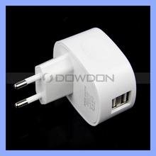 US/UK/EU/AU Plug 2.1A+1A Dual USB 2 Ports Wall Charger Adapter for iPad Samsung iPhone