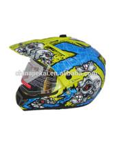 JK103 double visor cross helmet