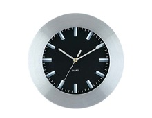 2014 aluminum frame wall clock approve ISO9001 ROHS&CE