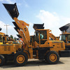 attractive price 3t front bucket wheel loader, excavator with log grapple, earth moving machine
