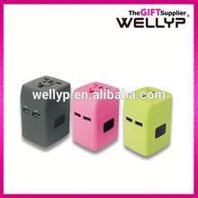 travel promotion gift uk to euro plug adapter