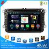 car dvd vcd cd mp3 mp4 player VW passat navigation system with BT FM AM car stereo