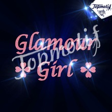 100% Competitive price glamour girl glitter for garment or shoes
