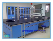laboratory furniture for laboratory reactor system