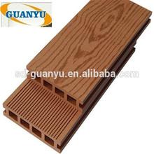 wpc outdoor balcony cover floor/black composite decking panel/plastic flooring panels
