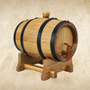 new oak barrels for production technology of wine and brandies