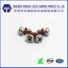 Pan head Phillips iron machine screws