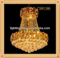 LED Crystal Hot sale Decorate pendant light power cord,brass wireless lighting pendants
