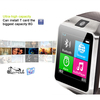 Alibaba China waterproof cell phone bluetooth watch small smart mobile phone
