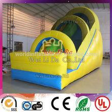 2014 Hot EN14960 manufacturer high quality 18ft inflatable slide