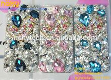 Lovely design rhinestones case ,diamond cover with stones,Luxury diamond case for iphone 4 4S