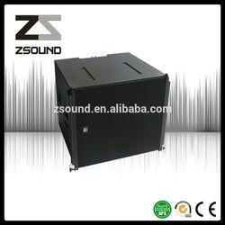 High performance neodymium woofer speaker box pro bass