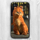 The Garfield animation mobile phone housing for iphone 5 case