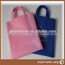 non-woven laminated shopping bags purple pp non woven bag