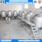 Large brewery equipment and plants, fruit and vegetable flavor beer brewery plant