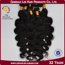 Natural Virgin Unprocessed Tangle and Shedding Free Remy Italian Body Wave Hair
