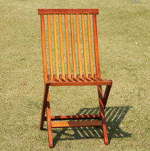 Outdoor iron wood folding chair DH-2014