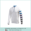 Latest Popular Long Sleeve Fitness 2014 Fashion Cotton T Shirts In White