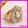 R004573 MACYS JEWELRY DIAMOND PROMATION GOLD FINGER RING