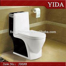 Ceramic color toilet, toto sanitary ware , saving water closet S trap 250 300 400mm