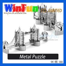 3D Model Puzzle Intelligent Toy DIY London Bridge