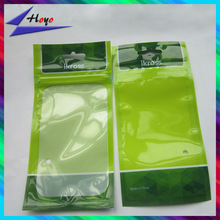 cell phone case retail packaging bag with clear window