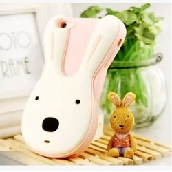 lovely cartoon custom design 3d waterproof animal silicone phone case for iphone