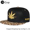 Fashion Men's and women's HAT Hip Hop Leopard Adjustable Baseball Cap Snapback Hats